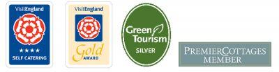 Awards and membership logos