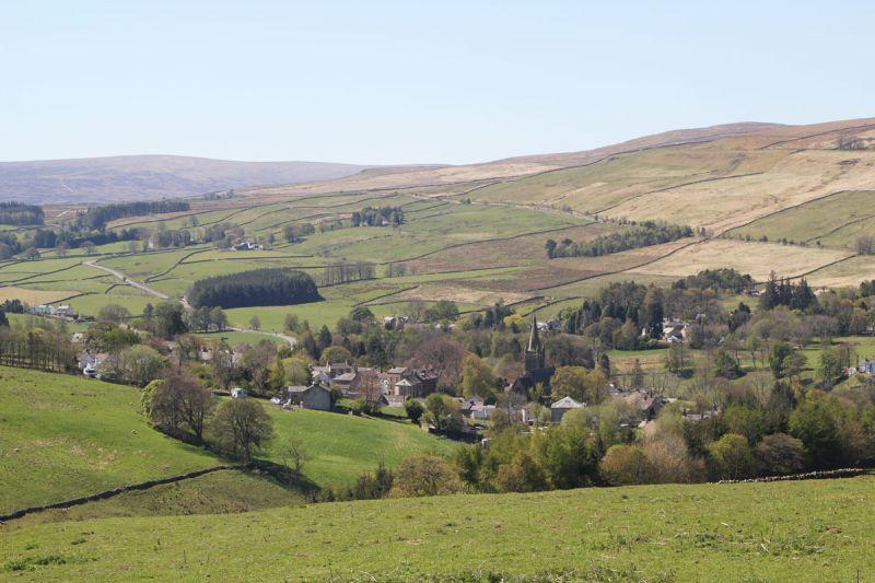 View over Alston